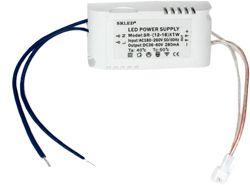 Трансформатор электронный для светодиодного чипа 12-18W DC280mA 36-60V (драйвер), LB120 от компании Ферон